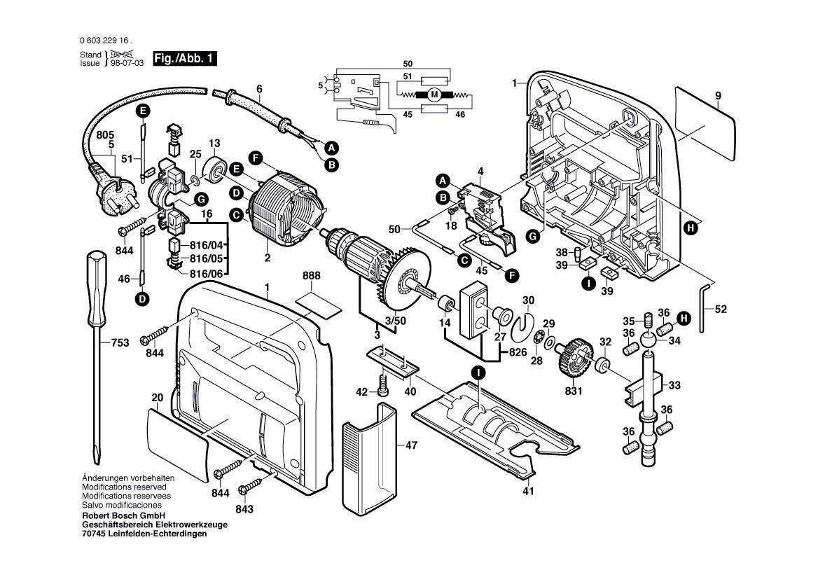 Bosch Pst 52a Manual